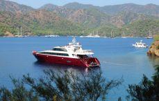 Motoryacht charter Gocek
