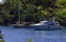 yacht cruise turkey
